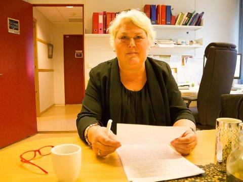 FRAMOVER: Endelig kan barnevernet gå med hevet hode og begynne å tenke framover, sier barnevernsleder Helle Cathrine Quist Fosshaug.