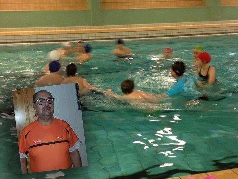 KAN BLI LAGT NED: Flere barn og voksne kan miste muligheten for trening i basseng dersom rådmannens forslag blir vedtatt og bassenget i Vestre Jakobselv blir stengt.