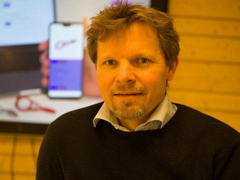GRÜNDER: Finn Helge Lunde i YouCanMake.