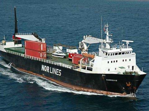 FÆRRE ANLØP: Det er færre anløp av godsbåter i Øst-Finnmark nå. Dette skaper utfordringer for næringslivet.
