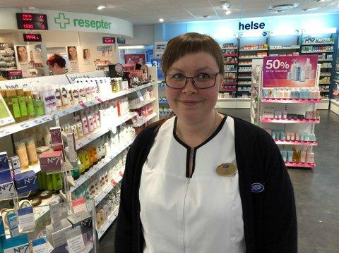 Tina Holmgren, daglig leder på Boots bossekop fotografert ved en tidligere anledning.