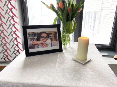 MINNER: Karine Emilie Negård omkom i en scooterulykke i Olderfjord natt til søndag.