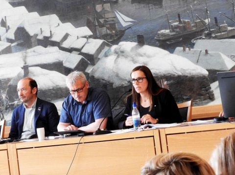 ENSTEMMIG NEI: Fellesnemda for Hammerfest kommune fulgte adminstrasjonens innstilling og avviste ønsket fra kvenene om at nye Hammerfest kommune skal ha et kvensk navn, Hammerfästi.