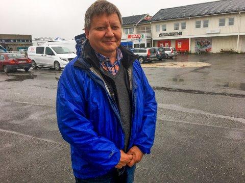 SPANDERBUKSENE PÅ: Direktør Jan Olli og Finnmarkseiendommen har nå delt ut 433.850 kroner fordelt på 46 prosjekter i grønne midler.