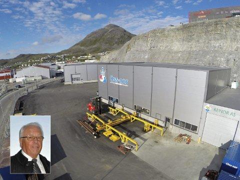 FLERE ANSATTE: Gründer Arnt Wærnes (innfelt) i Oss-nor Hammerfest regner med å doble antall ansatte fra 25 til 50 i løpet av de kommende 2-3 år. Foto: Svein G. Jørstad