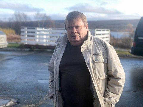 LEDER: Nils Mathis Buljo er leder for Kautokeino Ungkarsforening og har vært det siden 1997.