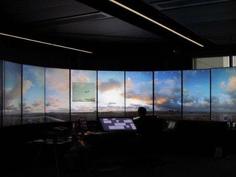 Første flight håndtert fra Remote Tower Centre i Bodø 19. oktober 2019.
