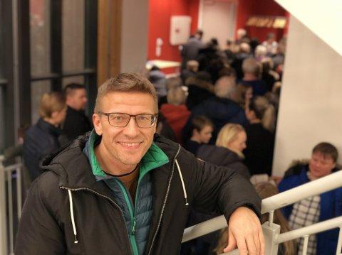 GIKK IKKE SOM HÅPET: Valget gikk ikke som håpet for Vardøs ordfører, Ørjan Jensen. Like vel ser han positivt på et regjeringsskifte.
