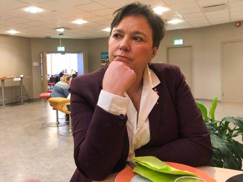 PÅ TUR OVER I NY JOBB: Fylkesordfører Ragnhild Vassvik er på tur over i ny jobb som prosjektleder.