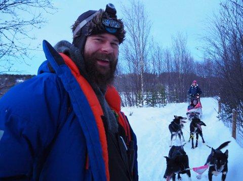 Hundekjøring med Team Karlsson i Alta.