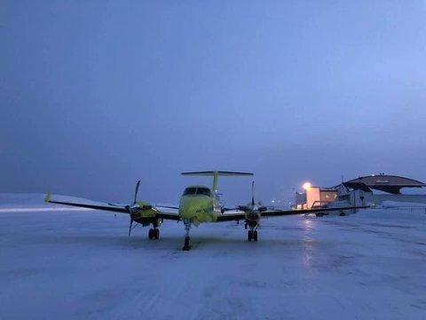 SYKDOM: Flere piloter ved ambulanseflybasene i Kirkenes og Alta har blitt rammet av sykdom. Dette vil redusere tilgjengeligheten for ambulansefly de nærmeste dagene. For å kompensere for redusert beredskap leier Babcock inn et jetfly fra Sverige.