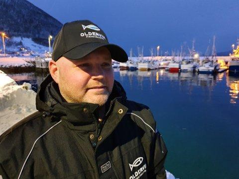 SYND: Bengt Gøran Pedersen er glad for at det fikk fint med alle om bord etter forliset, men forteller at konsekvensene kan være store.