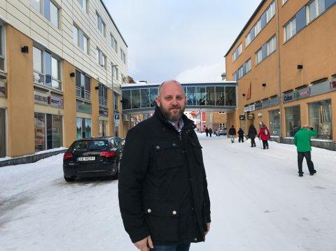 VISJON: Espen Hansen og Hammerfest næringsforening presenterer onsdag sin visjon for Hammerfest frem mot 2040.