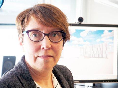 Lill-Gunn Kivijervi er prosjektansvarlig for nye Hammerfest sykehus.