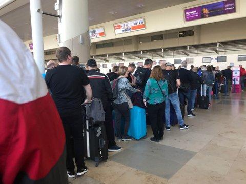 KAOS: SAS opplever i disse dager kaos på grunn av streik.