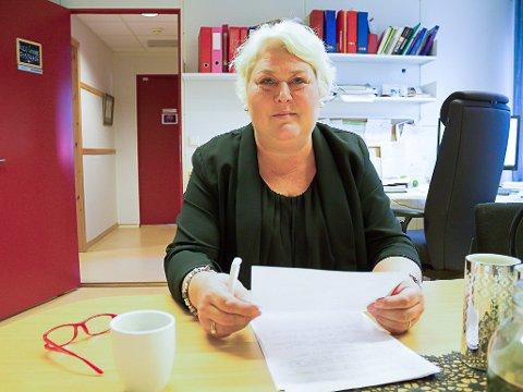 AVVIK: Helle Cathrine Quist Fosshaug, leder i barnevernet i Sør-Varanger, sier at de jobber med å rette avvikene.
