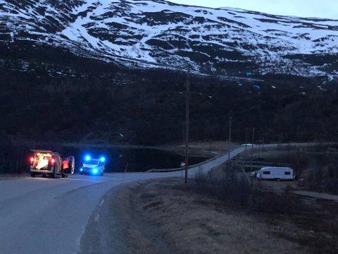 ENESTE DØDSULYKKE: En mann i 40-årene fra Alta omkom i den eneste dødsulykken i Finnmark i 2019.