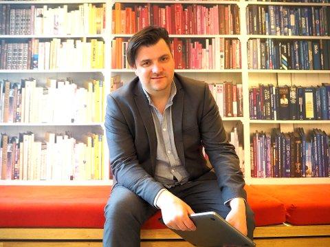 I VEKST: Gründer og daglig leder i TIALTA, Jørn-Roar Pedersen opplever en formidabel vekst.