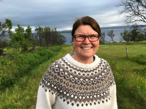 LOVER HARDT ARBEID: Ragnhild Melleby Aslaksen sier hardt arbeid er blant Vadsø Aps valgløfter.