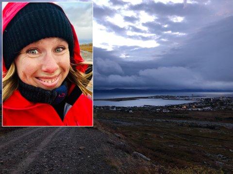 PREMIE: Når man først kommer seg ut, blir man raskt belønnet med det naturen har å by på. Onsdag var det dramatiske skyer og frisk høstluft i Vadsø.