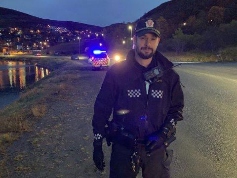 INNSATSLEDER: Arnt Torfinn Grav i politiet.
