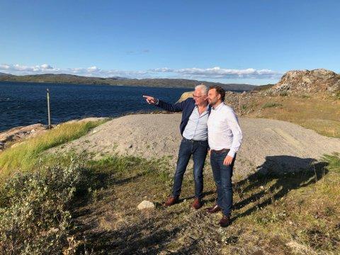 STORE AMBISJONER: Terje Hansen i FrP Sør-Varanger har store ambisjoner for Sør-Varanger. Nå har han bedt statssekretær i samferdselsdepartementet, Allan Ellingsen om 50 millioner kroner til utredning av ny jernbane.