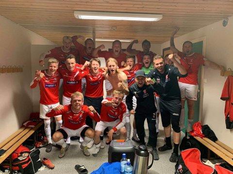 SERIEVINNER: Lørdag ble det klart at Tverrelvdalen er vinner av 4. divisjon en seriekap før slutt. Laget knuste Alta 2 med 4-0 på hjemmebane.