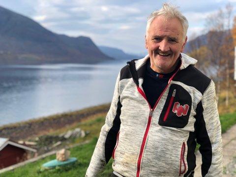 65 ÅR: Selv om han fylte 65 år i sommer har Wæraas ingen planer om å gi seg ennå. Foto: Ellen Wæraas