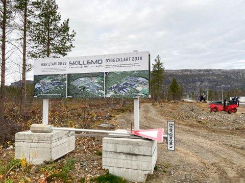 POPULÆRT: Skillemo næringsområde vil fra sommeren 2021 være klart for mye byggeaktivitet.