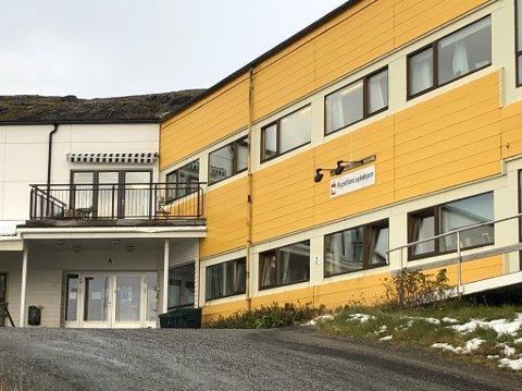 SMITTEENHET: Hammerfest kommunes smitteenhet er lagt her ved Rypefjord sykehjem.