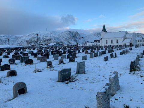 TRANGT OM PLASSEN: Honningsvåg kirkegård har ikke plasser til folk som vil reservere familiegravsted.