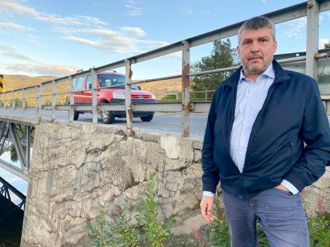 VIL HA MED STRØMMEN BRU: Bengt Rune Strifeldt vil forhandle inn Strømmen bru når regjeringen ventelig vender seg til Fremskrittspartiet for å få flertall for Nasjonal Transportplan (NTP) 2022-2023.