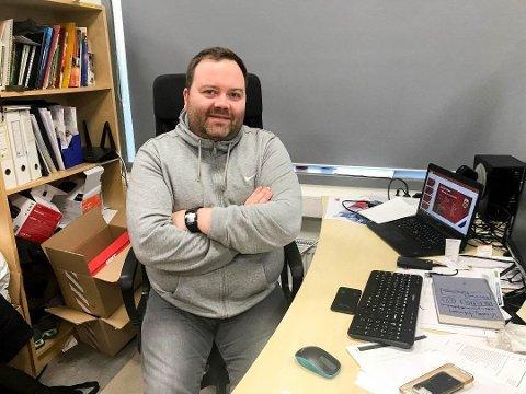 SATSER ALENE: Alta If-trener  Vidar Johnsen har opprettet enkeltpersonforetak.