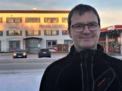 HAR PLANER: Bjarne Trevland og andre interessenter er i ferd med å starte et selskapet, der målet er ny drift ved Porsanger vertshus i Lakselv.