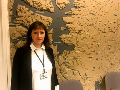 FLERE SATT I KARANTENE: Alta-ordfører Monica Nielsen sa på søndag at de hadde kontroll på nærkontaktene til en korosmittet person som hadde kommet til Alta fra utlandet.