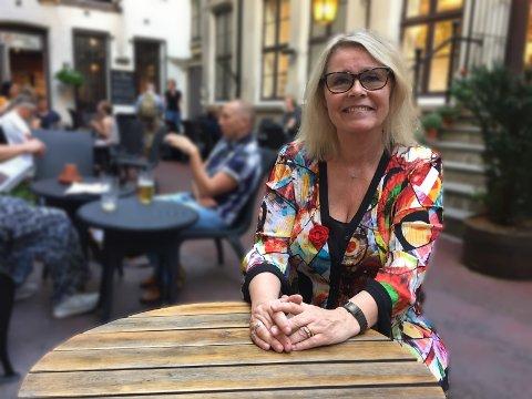 OPPBUD: Jazzsaksofonist Bodil Niska må etter 24 års drift legge ned utestedet, platebaren og jazzscenen Bare Jazz.