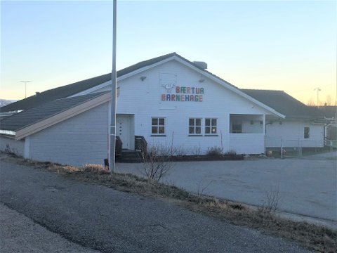 BARNEHAGEN: Bærtua barnehage er en privat barnehage i Lakselv med 59 barn og 25 ansatte.