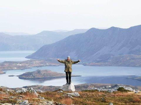 UBERØRT NATUR: Styrelederen i Motvind Norge, Eivind Salen, besøkte høsten 2020 Sørøya. Han mener at naturen i Finnmark og resten av landet ikke skal bygges ned.