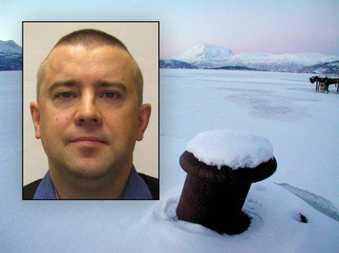 BORTE: Nils Johan Ottesen (51) er etterlyst av politiet. Dette bildet er fra 2013. I dag har han skjegg og kort hår som er gulfarget på toppen. Foto: Politiet/Fremover arkiv