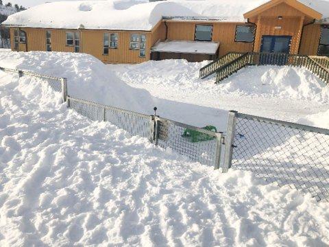 STENGT: Barnehagene i Finnmark har vært stengt fra 12. mars. Her er en av barnehagene i Alta.