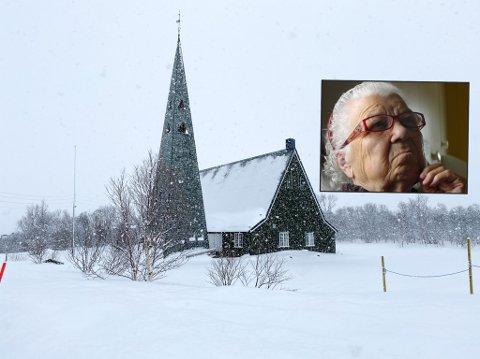 FÅR KUN TA 30 I KIRKEN: Tana Kirke får kun ta i mot 30 personer når de har gudstjenester og begravelser.
