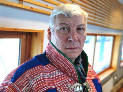 SER PÅ NY LØSNING FOR Å STANSE NUSSIR: Per Mathis Oskal i Aps sametingsgruppe mener NRL må bruke ILO-konvensjonen for å stanse en utbygging av Nussir i Kvalsund.