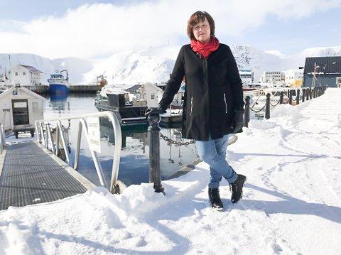 KRITISK TIL STATSRÅDEN: Kristina Hansen er leder i Finnmark Ap. Hun mener at Odd Emil Ingebrigtsen prioriterer trålerne foran kystsamfunnene i Finnmark.