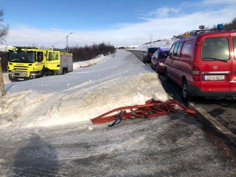 PÅGREPET FOR Å TENNE PÅ EGEN HYTTE: Politiet har pågrepet en mann i 50-årene i Bugøyfjord i Sør-Varanger onsdag morgen. I beruset tilstand hadde han satt fyr på sin egen hytte, med familiemedlemmer til stedet. Hytta er nedbrent.