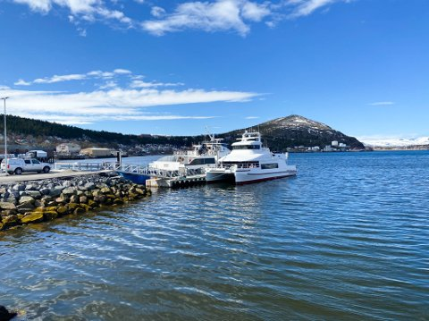 VIL HA FLERE INNSPILL: Framtiden til hurtigbåtenanløpene blir ikke avgjort under junimøtet i Troms og Finnmark fylkesting.
