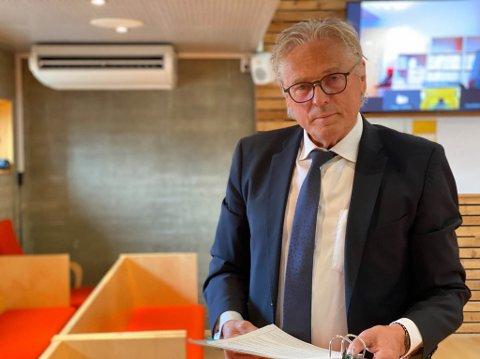 BISTAND: Forsvarer Per Magne Kristiansen er bistandsadvokat for den fornærmede kvinnen mot slutten av 30-årene.