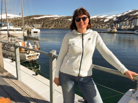 FORNØYD: SVs Ingrid Petrikke Olsen er glad for at Sp nå har løftet Nussir-saken inn på dagsorden ivalgkampen.