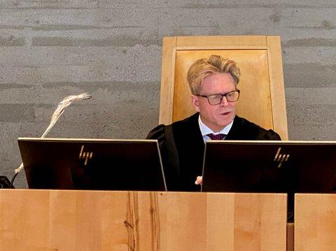 ADMINISTRATOR: Sorenskriver Torbjørn Saggau Holm var rettens administrator i saken.