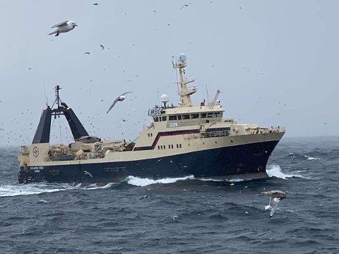GOD DRIFT: Det er uten tvil god drift på  «Atlantic Star», som har cirka 40 ansatte om bord.