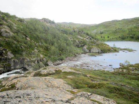 AVSLAG: Finnmark Kraft hadde søkt om konsesjon til å etablere Korselva kraftverk her. Korselva ligger i Hammerfest kommune.